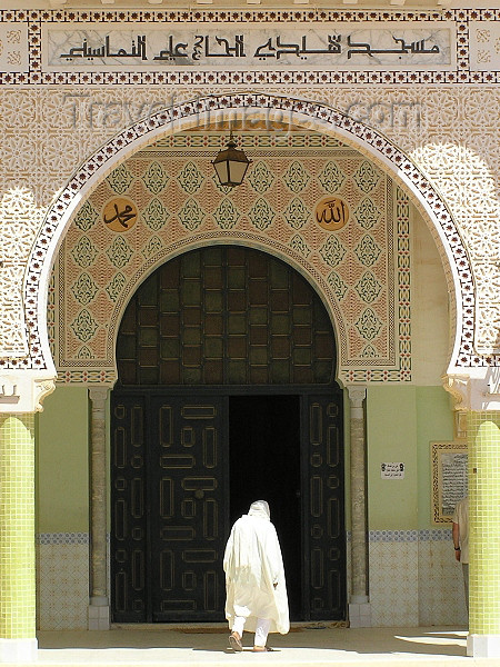 The mosque of Sidi El Hajj Ali  (Tamelhat, ALGERIA)