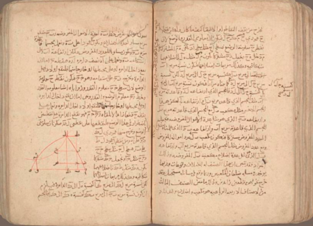 Extract from a copy of The Compendious Book on Calculation by Completion and Balancing