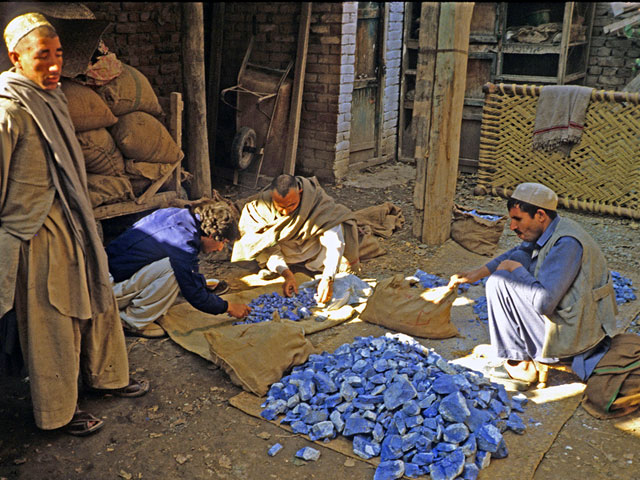 Afghanistan is notorious for its Lapis Lazuli